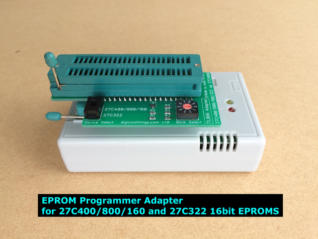 EPROM Programmer Adapter for 27C400/800/160 and 27C322 16bit